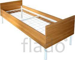 Кровати на металлкаркасе со спинками оптом и в розницу