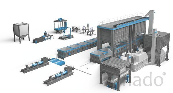 Оборудование для литья по газифицируемым моделям