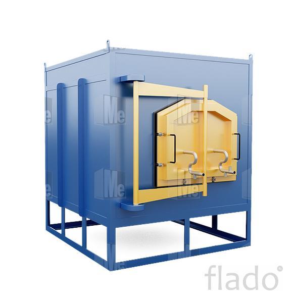 Термичекая печь камерного типа с защитной атмосферой газа