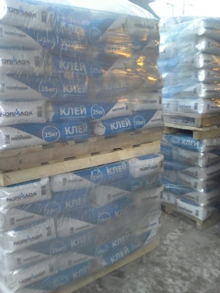 Клей для блоков пеноблоки цемент в Домодедово с доставкой