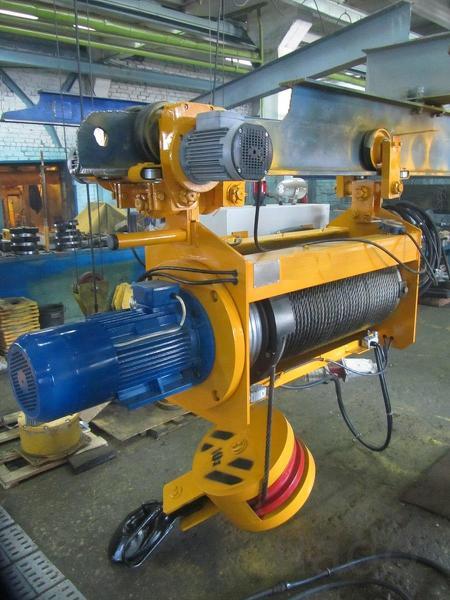 Таль электрическая канатная ТЭ-100 г/п 1,0 т. В наличии.
