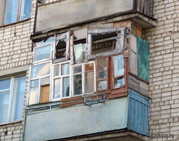 Заказать недорогой разбор( демонтаж) старых балконов в Омске