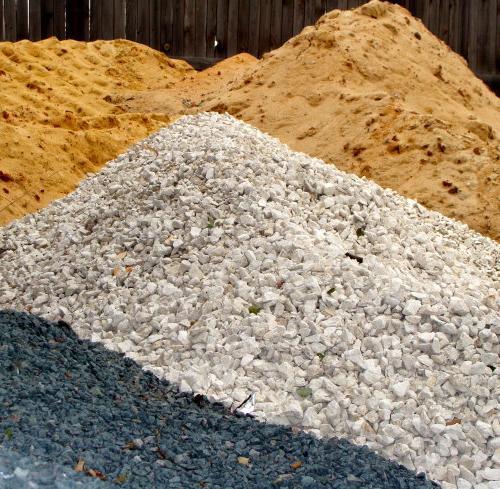 Песок. Щебень. ПГС. Земля. Бетон. Асфальтная крошка