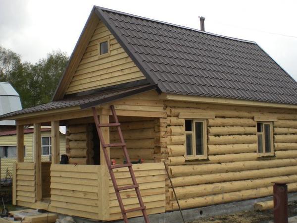 Деревянный дом «под ключ»