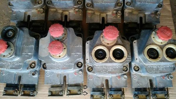 Пост  кнопочный ПВ- К3 1712 У3 взрывазащ. В наличии