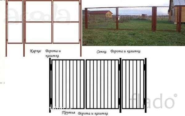Ворота и калитки в Смоленской области