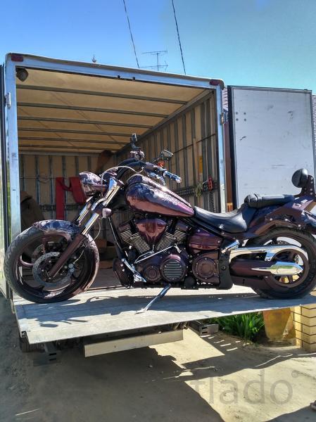 Мотоэвакуатор, перевозка мотоциклов