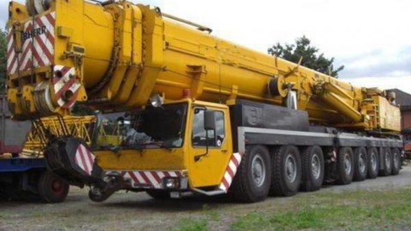 Ремонт,восстановления автокранов LIBHERR LTM