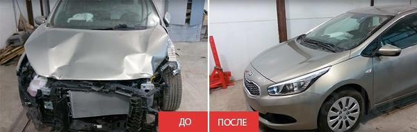 Ремонт кузова автомобиля в Краснодаре