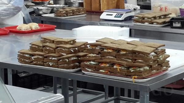 Упаковщики/комплектовщики сэндвичей, блинчиков с начинкой