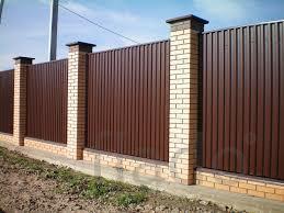 листы метала на забор
