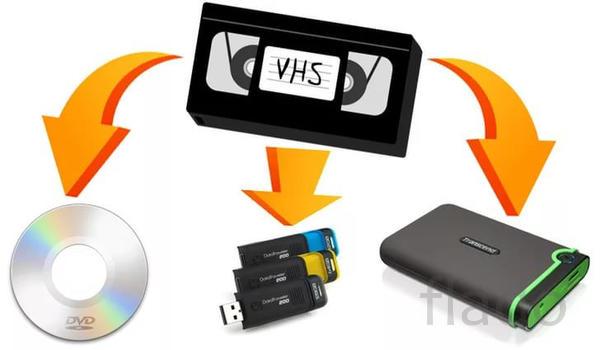Оцифровка видеокассет.