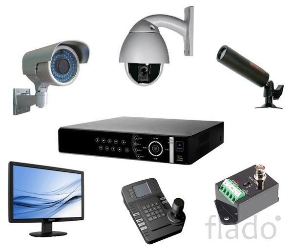 Установка и модернизация систем видеонаблюдения