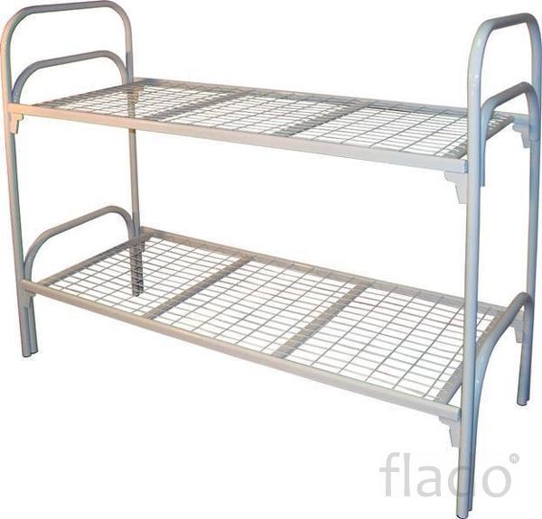 Бюджетные кровати металлические, Кровати в строительные вагончики