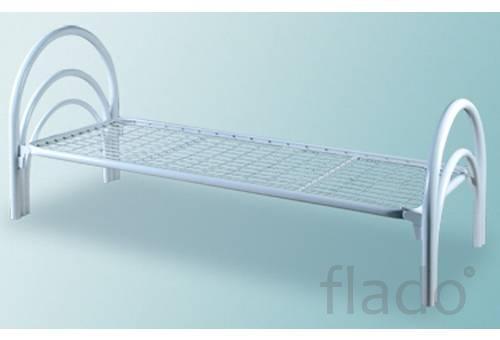 Одноярусные кровати металлические, Кровати эконом класса в клиники