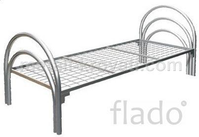 Односпальные кровати металлические, Кровати одноярусные в общежития