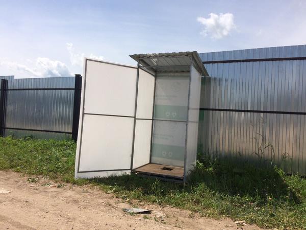 Продам кабину  туалета для дачи в  Вичуге