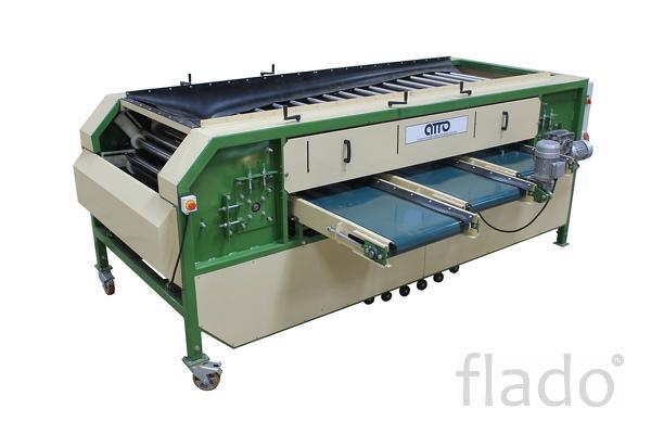 оборудование машина для калибровки картофеля, овощей лука по размеру