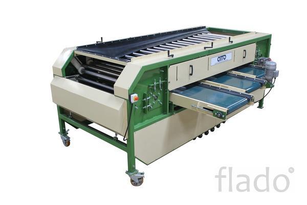 оборудование машина для сортировки овощей, картофеля, лука, моркови