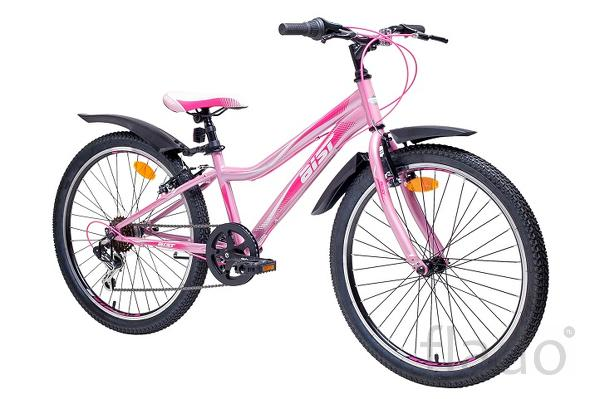 Велосипед горный Aist (junior 24 2.0) Бело-розовый.