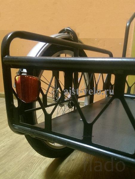 Велоприцеп ВT-150 усиленный грузоподъемность до 150кг.