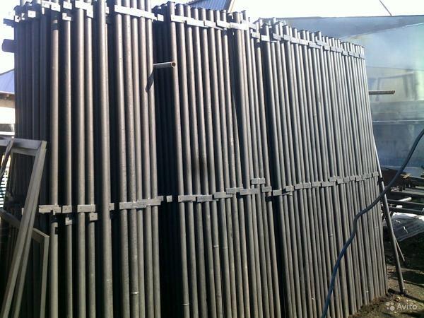 Столбы металлические по низким ценам
