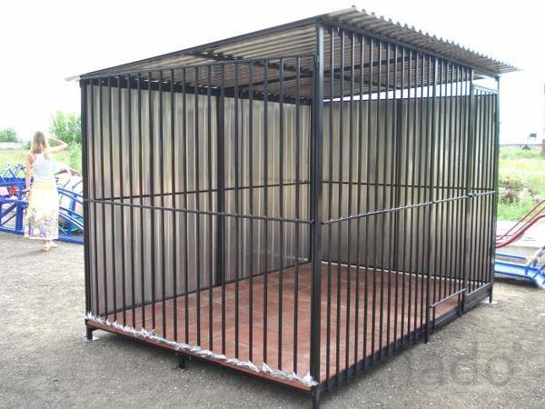 ольеры для собак на металлокаркасе доставка бесплатная по всей области