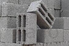Блоки, кирпич, щебень, отсев, песок
