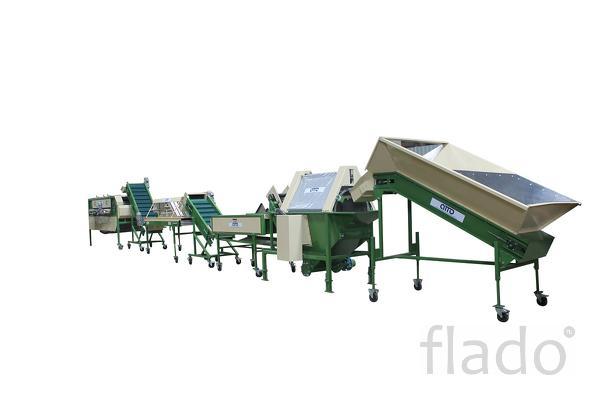 линия оборудование для переработки и предпродажной подготовки овощей