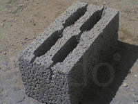 Блоки шлакобетонные от 1700руб/м3. Блок керамзитобетонный