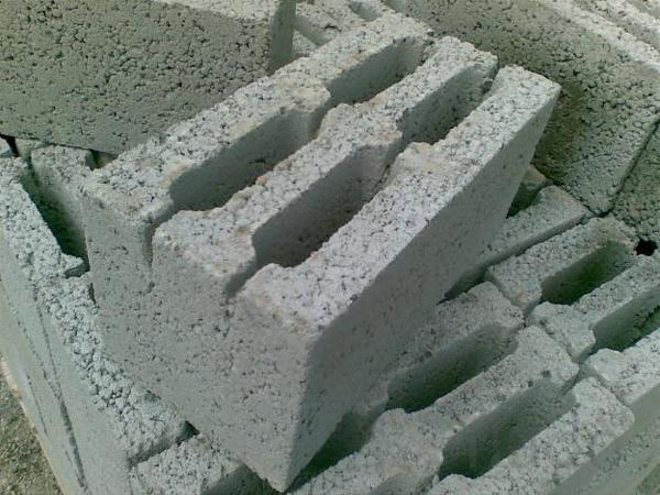 Блок керамзитобетонный, газосиликатный