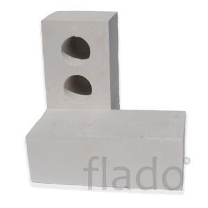 Кирпич белый силикатный, пр-во оэмк, красный фундаментный