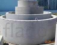 Кольца жб, канализационные, детали колодца, диаметр 1, 1,5, 2 м. Цемен