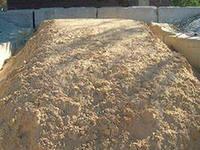 Песок оэмк, сгок, (мытый, строительный)