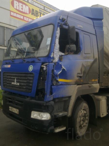 Кузовной ремонт грузовиков Челябинск
