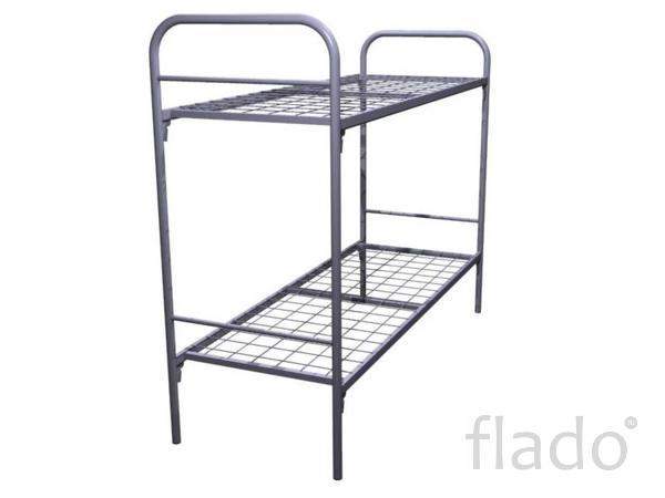 Фирменные кровати металлические под заказ недорого, Кровати эконом.