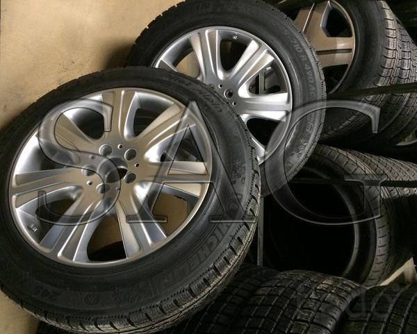 Зимние бронированные колеса на Mercedes-Benz W222