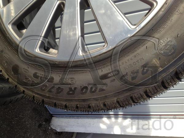 Бронированные колёса на Audi A8 (D3 4E) GUARD