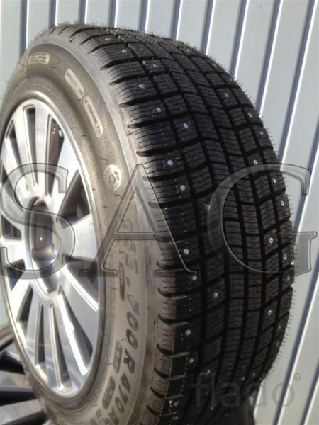 Зимние бронированные колёса на Audi A8 (D3 4E)