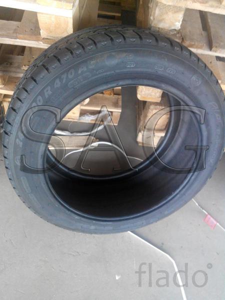Летние шины на бронированную Ауди А8 Security B7