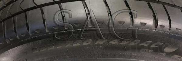 Летние шина на бронированную BMW F03 guard