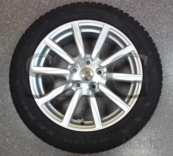 Летние колёса на бронированную Toyota Camry (B6)