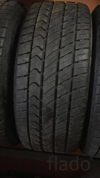 Летние бронированные б/у шины на Mercedes W221