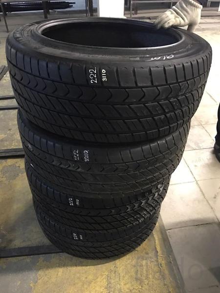 Летние бронированные б/у шины на Mercedes W222 B7