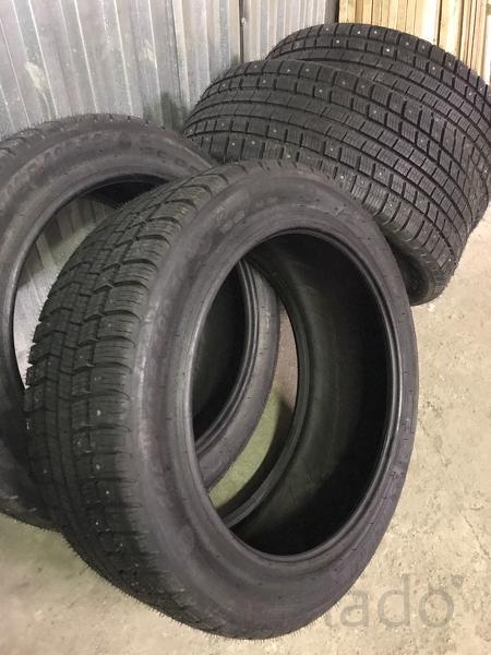 Зимние б/у шины на бронированную BMW F03 guard