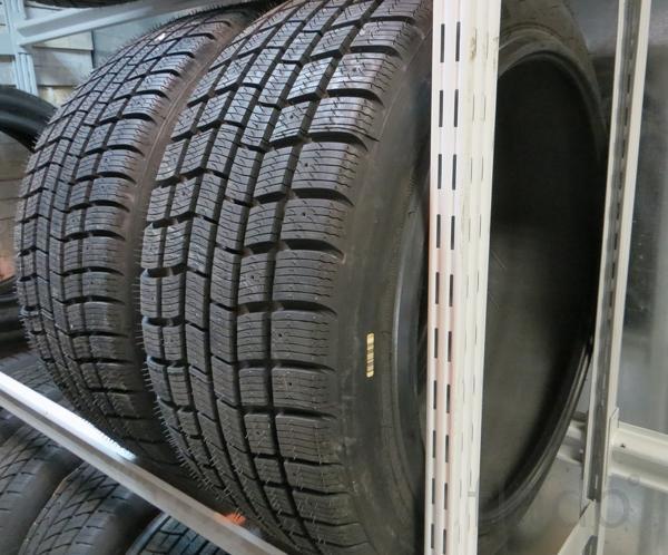 Зимние бронированные б/у шины на Mercedes W222 B7