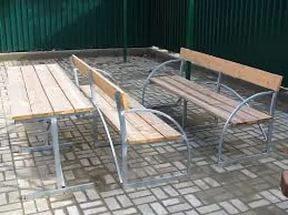 Скамейки и столики для дачи Ковров