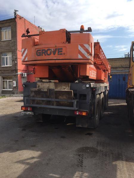 GROVE GMK3055 2006 года выпуска