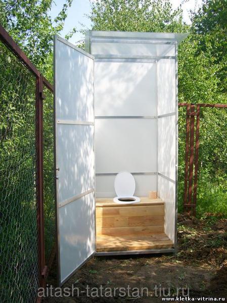 Дачный туалет Рыбное