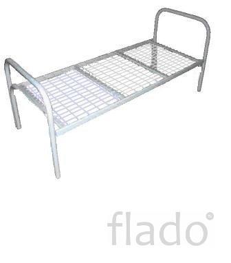 Кровати на металлкааркасе со спинками